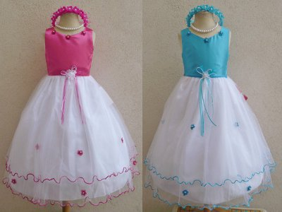rosebud flower girl dresses